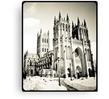 Washington DC Winter Canvas Print