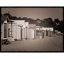 Beach Houses Photographic Print