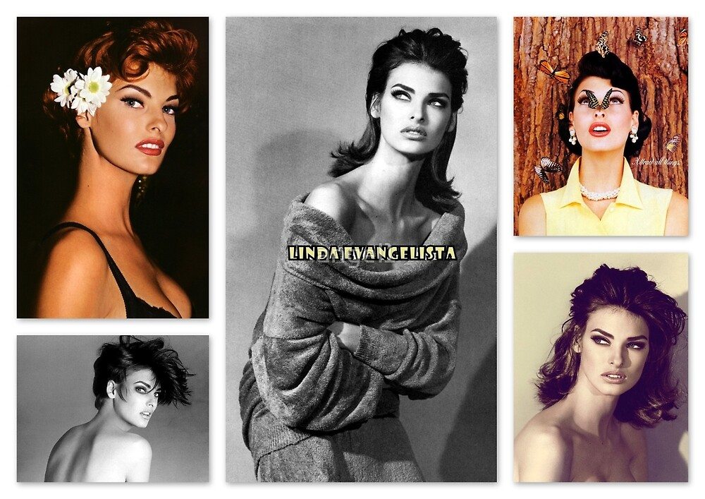 Linda Evangelista by ©The Creative  Minds