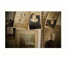 Family History Art Print