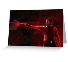 The Walking Dead - Rick Grimes Greeting Card