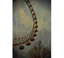 Vintage London Eye Photographic Print