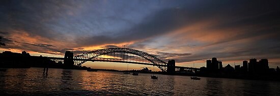 Shadows And Light , Sydney Harbour, Australia by Philip Johnson