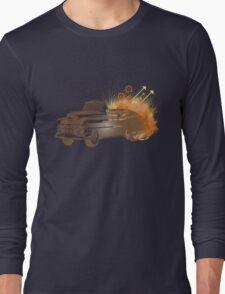 Brown Retro Car T-Shirt
