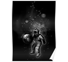 Deep Sea Space Diver Poster