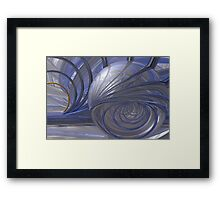 Shouting To The Void Framed Print