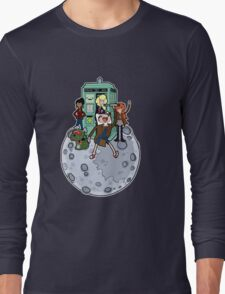 Adventure Time and Space Long Sleeve T-Shirt