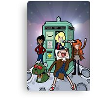 Adventure Time and Space Canvas Print