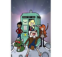 Adventure Time and Space Photographic Print
