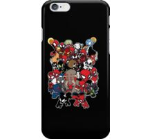 Spidey across time and space iPhone Case/Skin