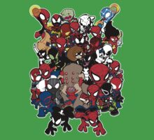 Spidey across time and space Baby Tee