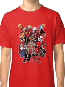 Spidey across time and space Classic T-Shirt