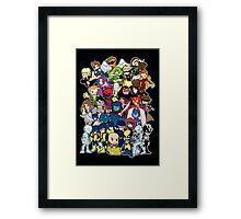 Lil X Framed Print