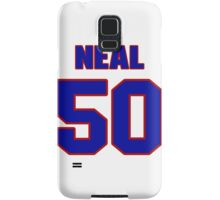 National football player Dan Neal jersey 50 Samsung Galaxy Case/Skin