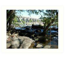 James River Art Print