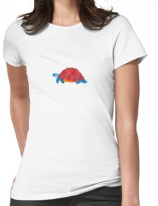 Blue Turtle Womens Fitted T-Shirt