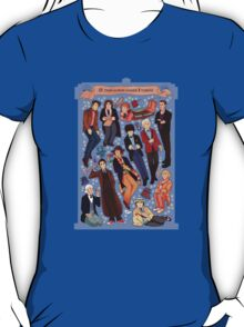 11 time lords inside 1 tardis T-Shirt