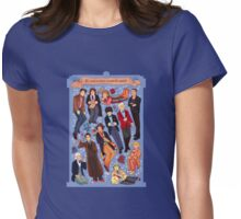 11 time lords inside 1 tardis Womens Fitted T-Shirt