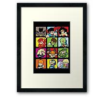 Justice Squared Framed Print