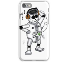 retro robot -the groover t-shirt iPhone Case/Skin