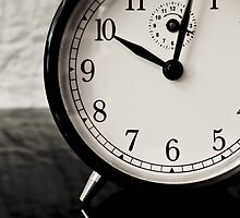 clock-morning by Jean Beaudoin