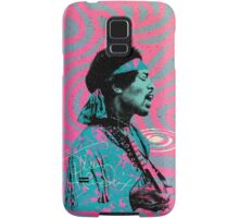 Jimi Hendrix - Psychedelic Sixties by Pepe Psyche Samsung Galaxy Case/Skin