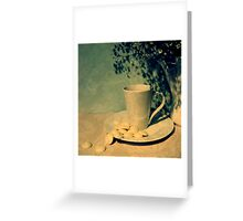 Little Pea-Pot-Poe Greeting Card