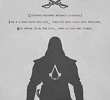 Assassins Creed Black Flag Poster (Gray) by god-father
