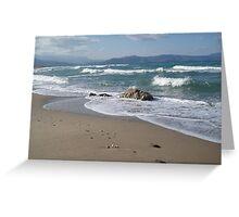 Crete Seascape Greeting Card