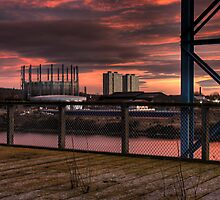 Industry and residential by Richard Shepherd