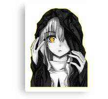 Black and White - Anime Canvas Print