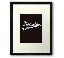 Beagles Rule T Shirts Framed Print