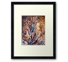 Familiarity Framed Print
