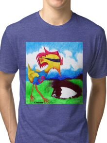 Super Bird Tri-blend T-Shirt