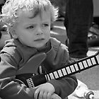 Mini Guitarist by LozengePhotoArt