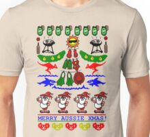 AUSSIE XMAS UGLY SWEATER DESIGN Unisex T-Shirt