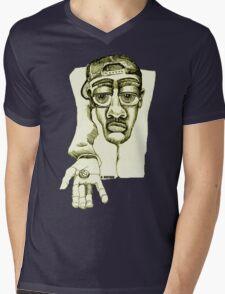 Please Mens V-Neck T-Shirt