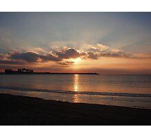 spainish sunrise Photographic Print