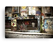 Hosier Lane Melbourne Canvas Print