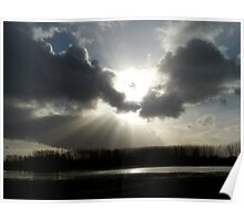 Rays Over Waters Poster