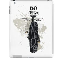 Fat bikers unite! iPad Case/Skin