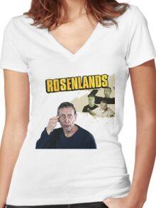 Rosenlands Women's Fitted V-Neck T-Shirt