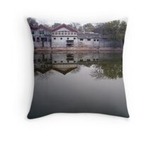 Near Forbidden City, Beijing Throw Pillow