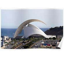 Tenerife Concert Hall, Canary Island, Spain Poster