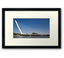 Alamillo Bridge, Sevilla, Spain Framed Print
