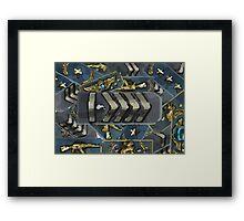 Rankmash Silver elite master Framed Print