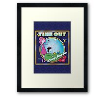 Time Out: Candy Kingdom Framed Print