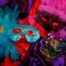 Mardi Gras Masks by Barbara Gordon