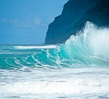 Polihale Beach Kauai by kevin smith  skystudiohawaii
