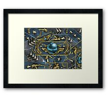 Rankmash The global elite Framed Print
